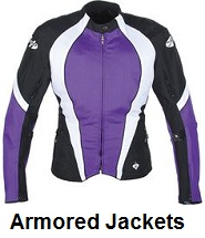 womens armored motorcycle jackets