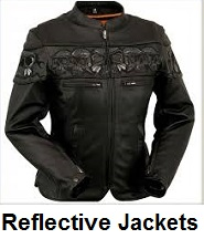womens reflective motorcycle jackets