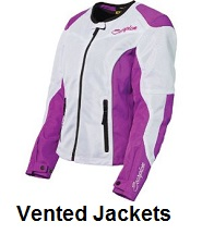 womens vented motorcycle jackets