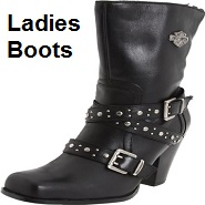 womens leather biker boots