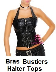 womens halter tops under garments