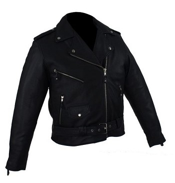 Womens Leather Motorcycle Jacket with Zip Out Lining
