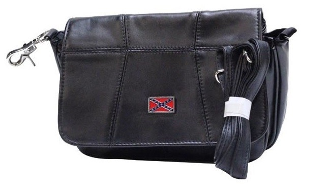 Womens Hip Bag Purse Combo with Rebel Flag