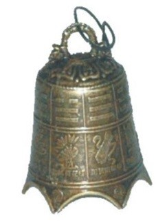 Asian Scripture Motorcycle Bell