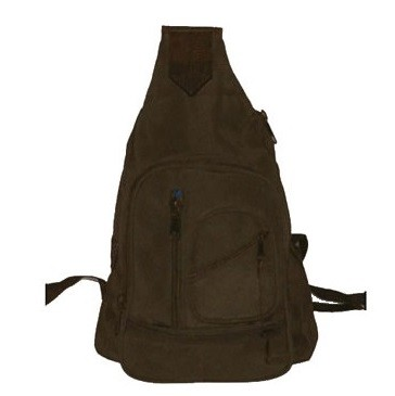 Womens Brown Shoulder Bag Back Pack