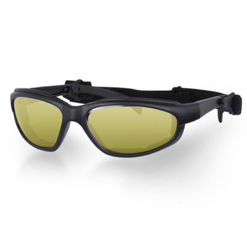 UV Anti-Fog Yellow Lens Motorcycle Goggles