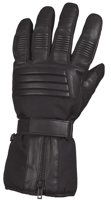 Full Finger Gauntlet Motorcycle Riding Gloves With Gel