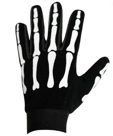 Skeleton Mesh Textile Motorcycle Mechanics Gloves