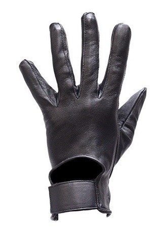 Summer Leather Motorcycle Gloves