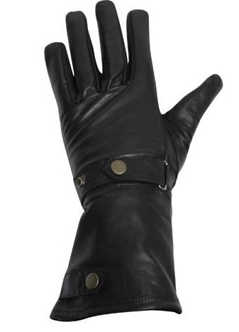 Long Summer Motorcycle Gloves With Wrist Strap