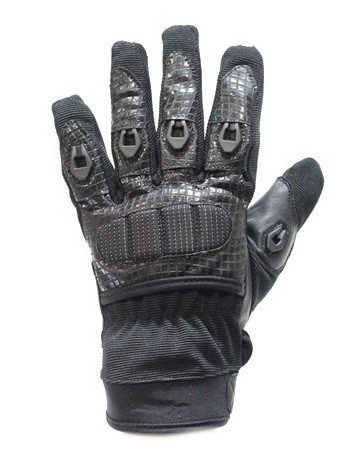 Leather and Mesh Motorcycle Racing Gloves