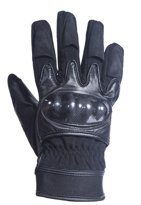 Hard Knuckle Leather, Suede, Textile Racing Gloves