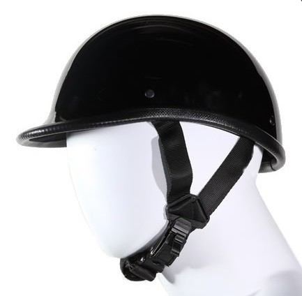 Jockey Style Novelty Motorcycle Helmet