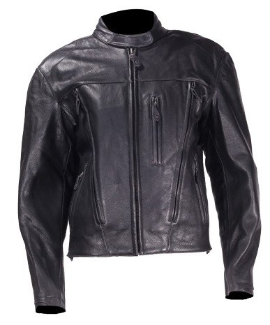 Womens Leather Motorcycle Jacket With Removable Liner