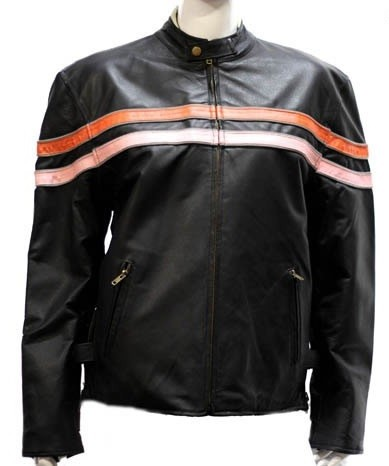Womens Reversible Leather Motorcycle Jackets
