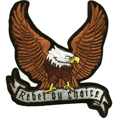 Eagle Rebel by Choice Motorcycle Jacket Patch