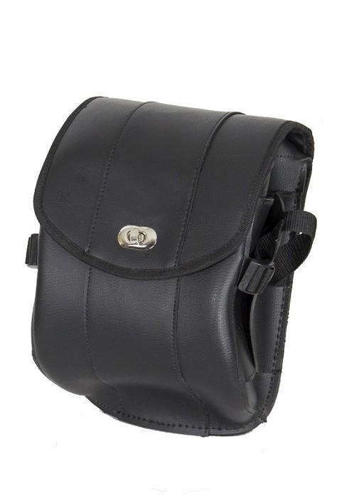 Motorcycle Sissy Bar Bag with Gun Holster
