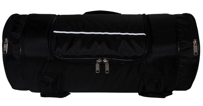 Triple Compartment Motorcycle Sissy Bar Bag