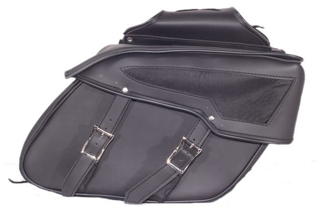 PVC Motorcycle Saddlebags With Heavy Duty Quick Release