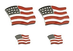 USA Flag Lapel Pins and Emblems