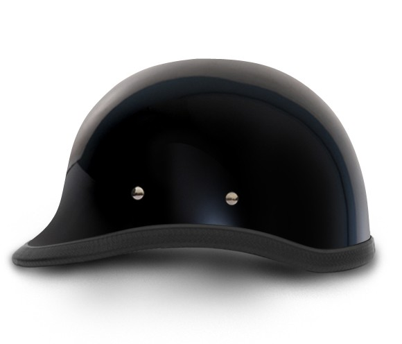 Hawk Gloss Black Novelty Motorcycle Helmet