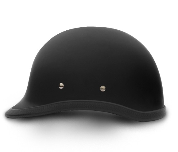 Hawk Dull Black Novelty Motorcycle Helmet
