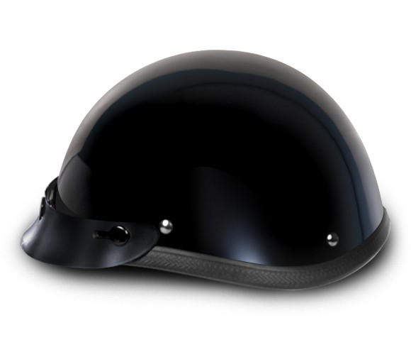 Smokey Gloss Black Novelty Motorcycle Helmets